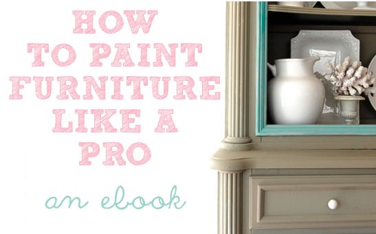 How to Paint Furniture Like a Real Pro www.thenester.com: Modern Furniture, Paintings Furniture, Antiques Furniture, Art Paintings, Furniture Arrangements, Diy Furniture, Furniture Furniture, Furniture Ideas S Inspiration, Furniture Painting