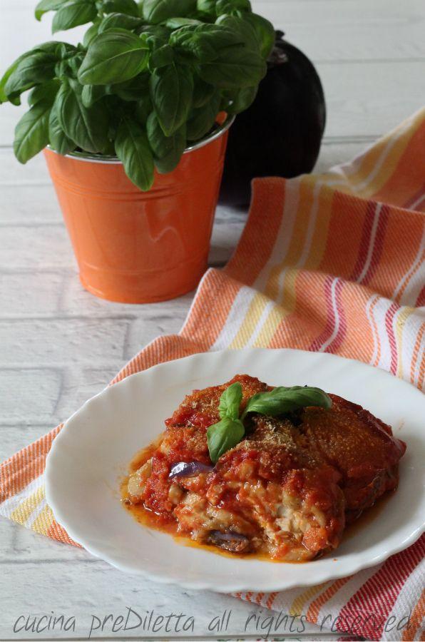 Parmigiana di pesce spada - ricetta siciliana con video   cucina preDiletta