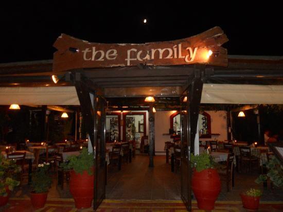 The Family Restaurant - Sidari. Great Greek food