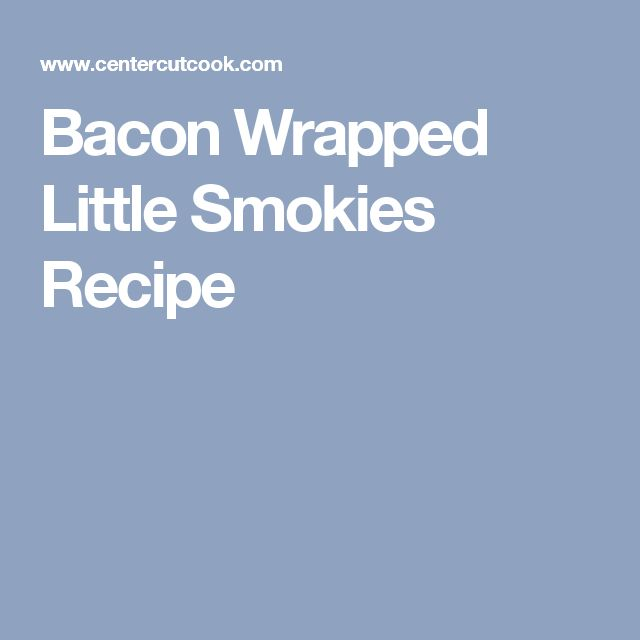 how to cook little smokies
