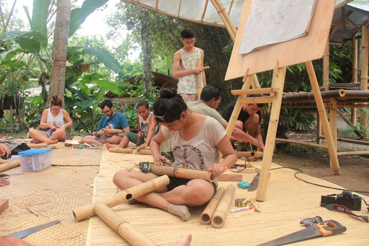 Gallery of Learning Basic Bamboo Joinery With Indonesian Carpenters - 9
