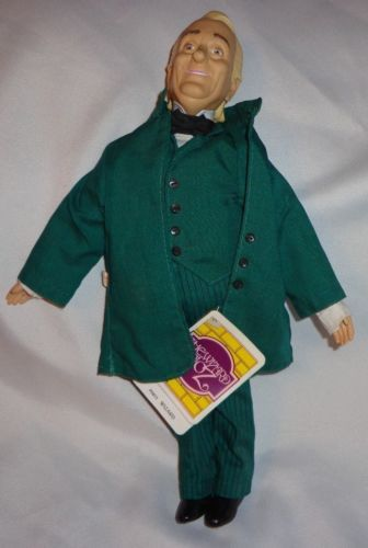 Wizard of Oz Wizard by Presents Doll $12.99. Picked mine up today (12.31.2013) at the antique mall for $7.50