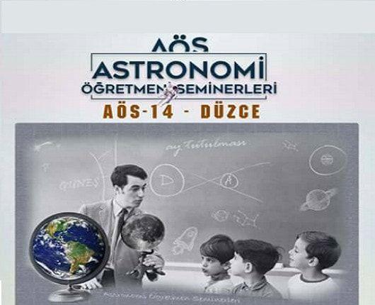 Astronomi Öğretmen Seminerleri 14 – Düzce