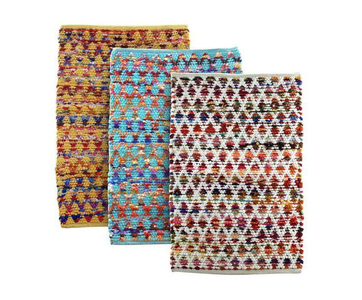 Набор из 3-х ковриков - текстиль, 1 х 55 х 85 см | Westwing Интерьер & Дизайн