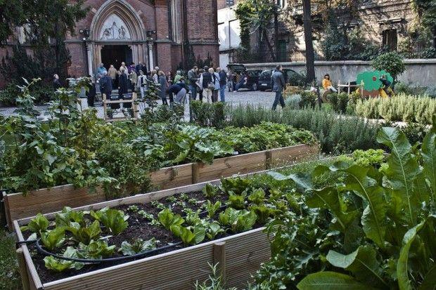 'Urbi et orti', gli scatti raccontano gli orti urbani nel cuore di Milano #Expo2015 #Milan #WorldsFair