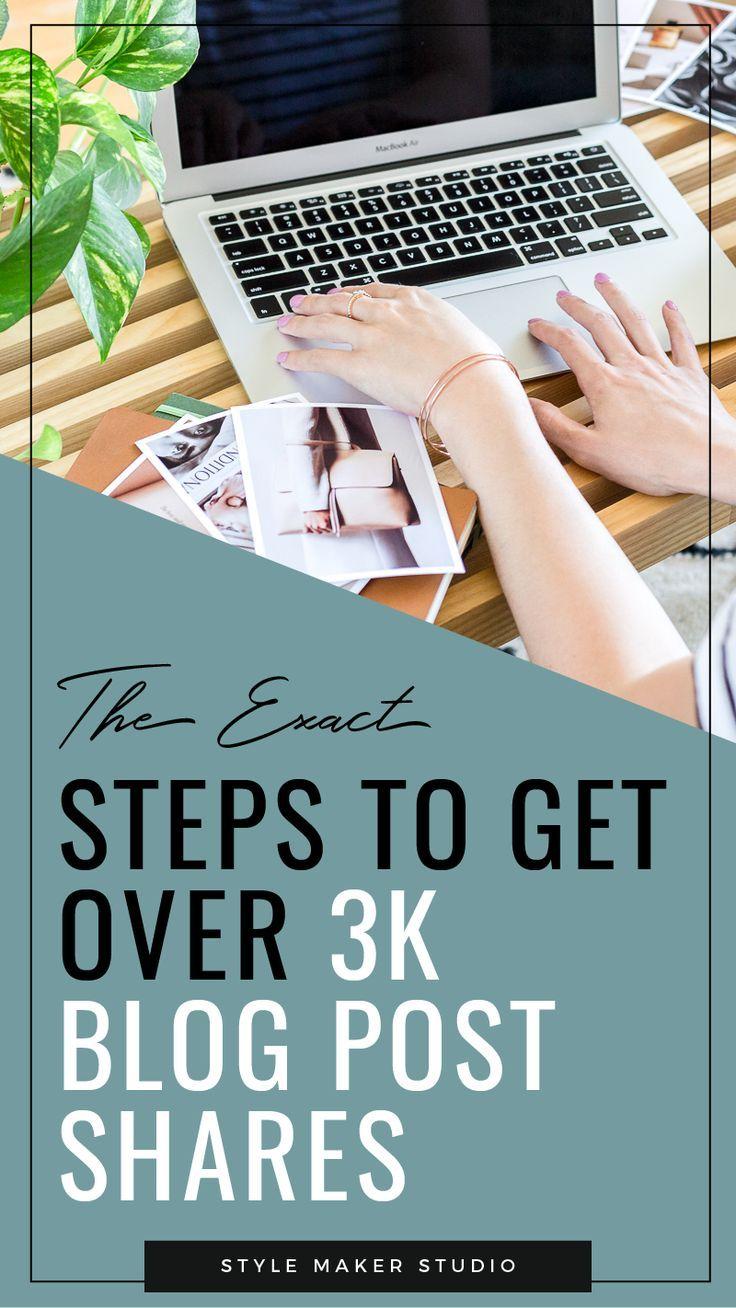 7 Steps To Get More Blog Post Shares Big Bad Blogging Life