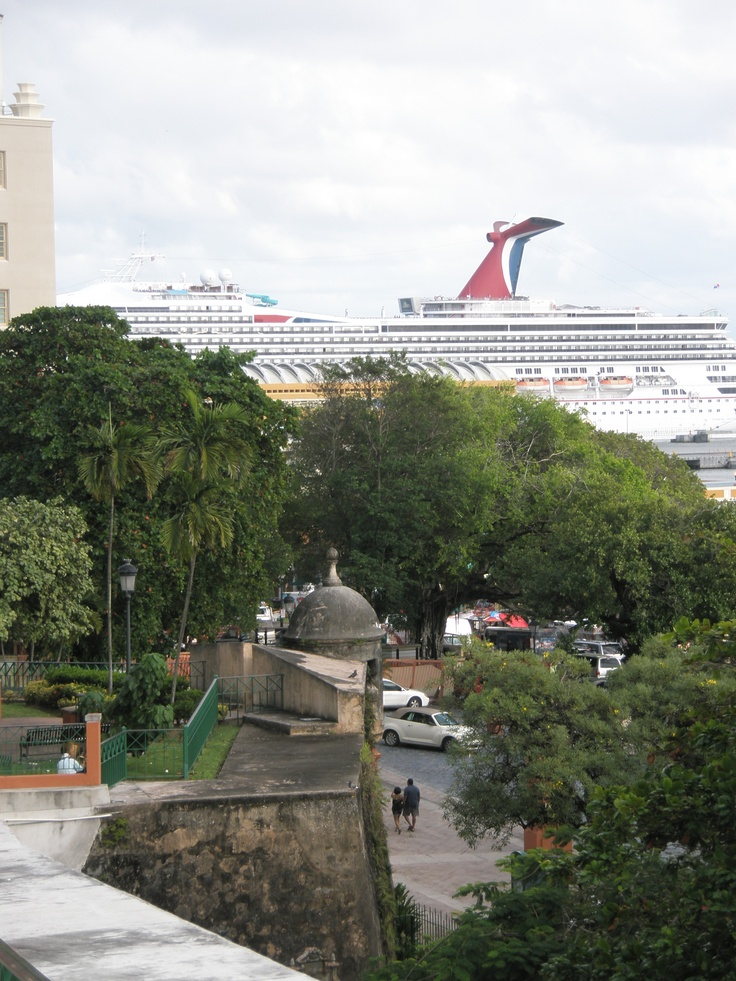 My visit to Puerto Rico was on