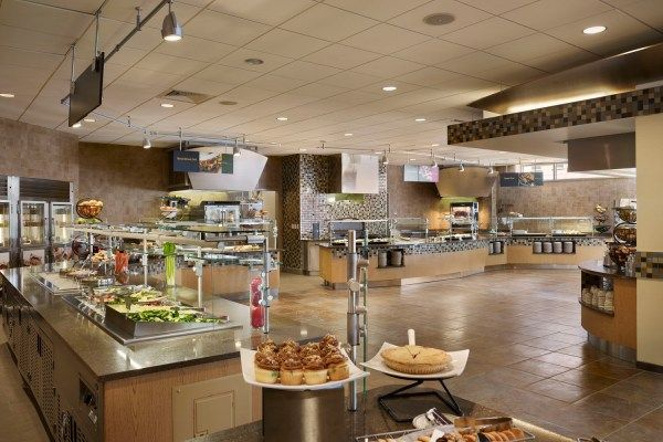 Clarion University Eagle Commons Dining Hall By Stv