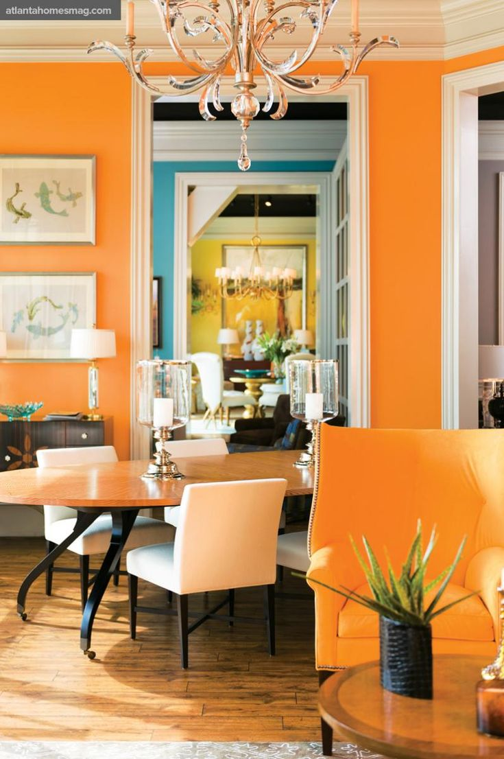 Tangerine Living Room Decor: 178 Best Images About Trending: Tangerine & Turquoise! On