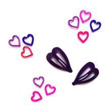 2+Κοκαλάκια+καρδιές/μωβ