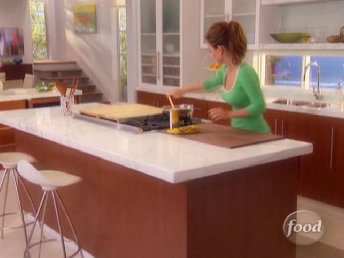 Kitchen cabinets- use existing lowers w new pulls--white counter/white frosted glass uppers
