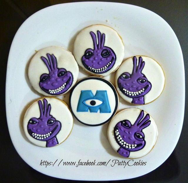 Monsters Inc Randall Cookies