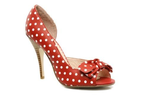 someday we will meet again.: Polka Dots Shoes, Style, Red Shoes, Mellow Yellow, Bow Shoes, Awesome Shoes, Polka Dot Shoes, Black Cat, Bows Shoes