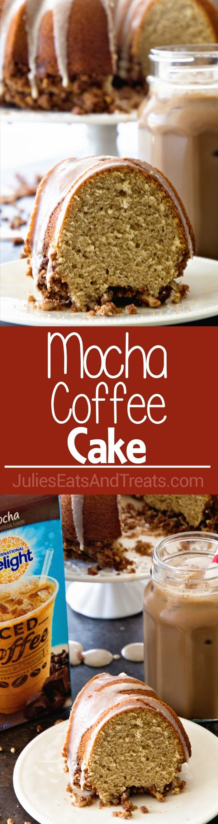 Iced coffee, Coffee cake and Mocha on Pinterest