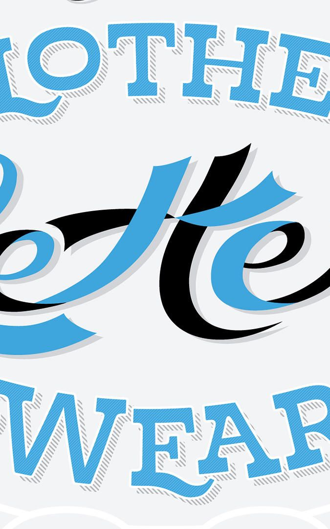 A Picture Book To Teach Kids Typography: The Clothes Letters Wear by Jeremy Dooley