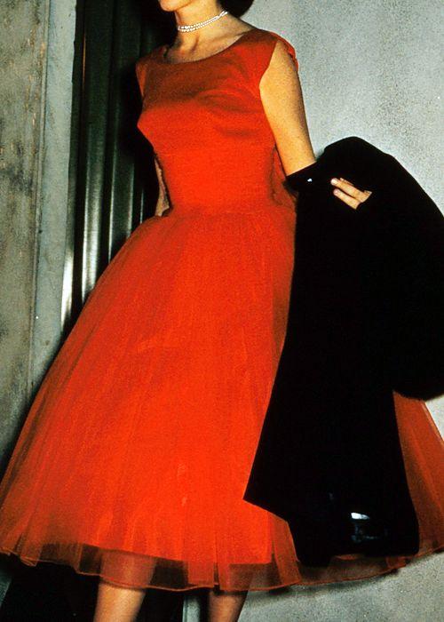 el vestido rojo  :)