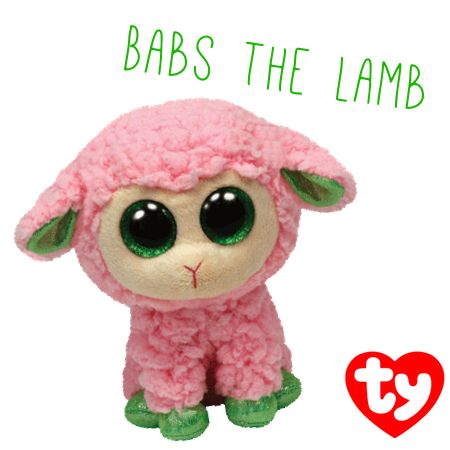 Babs the Pink Lamb Beanie Boo is now available in the online Ty Store!