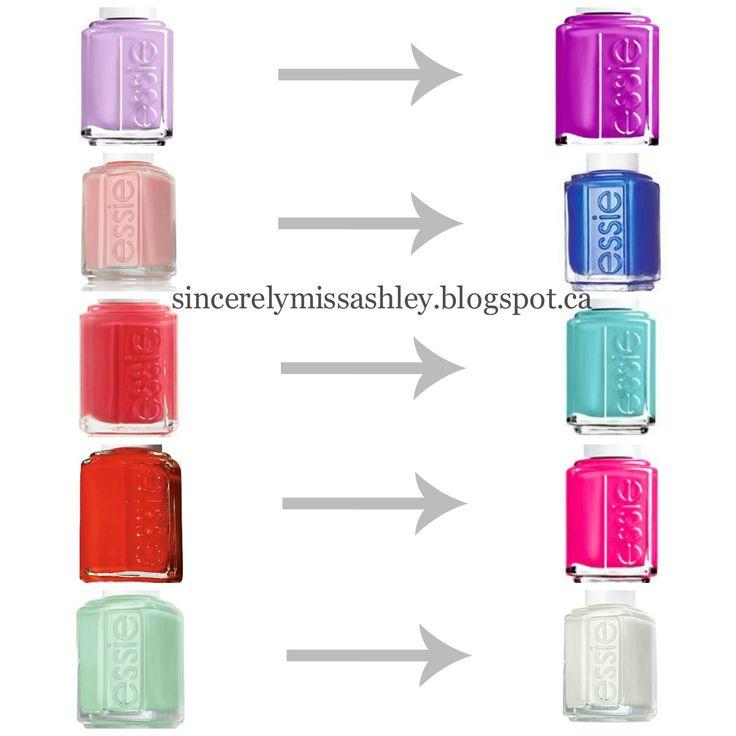 Orange Nail Polish Combinations: Mani & Pedi Colour Pairings
