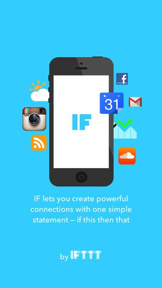 IF connects the apps you love. Create simple connections between apps like Facebook, Dropbox, Instagram, Twitter, and Gmail, as well as devices like Nest Thermostat, Fitbit, and Philips Hue. Popular ways to use IF: + If you post a photo on Instagram then share it on Twitter + Every time you update.