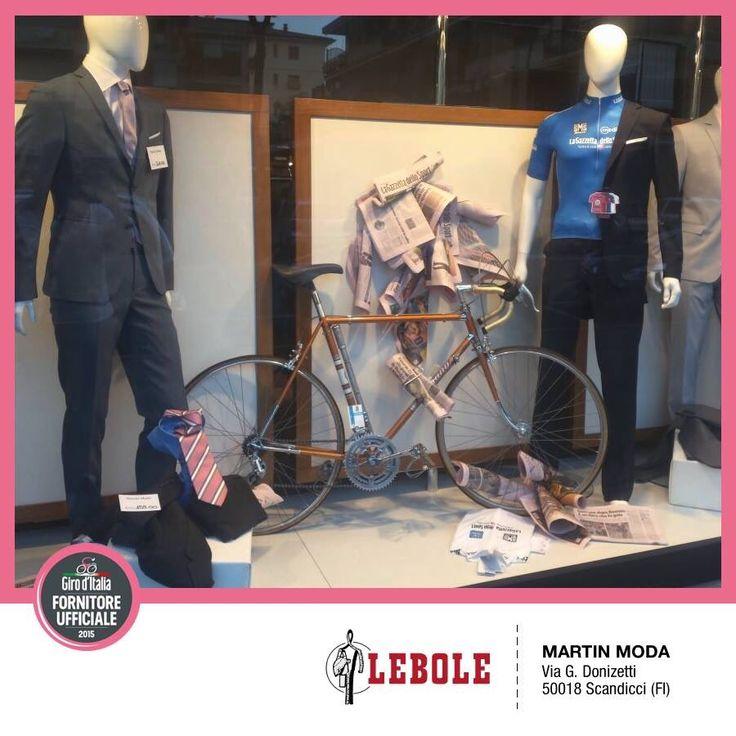 MARTIN MODA, Scandicci (FI) - I nostri Clienti festeggiano il Giro d'Italia 2015 e presentano l'abito esclusivo prodotto da LEBOLE per il Giro #lebolegiro2015 #lebole #abito #modauomo #fashion #stile