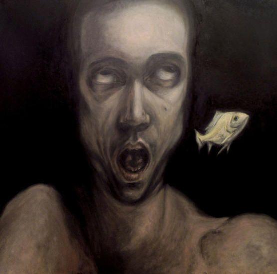 Cabeza de pez (autorretrato)