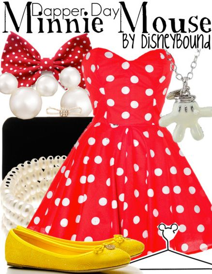 Style Icons Closet will be dressing me for this years Dapper Day in this awesome dress perfect for a Minnie Mouse DisneyBound! They want to offer it to you DisneyBound fans at 30% off! Head over to http://styleiconscloset.com and enter in the promo code REDHOT to get your discount!