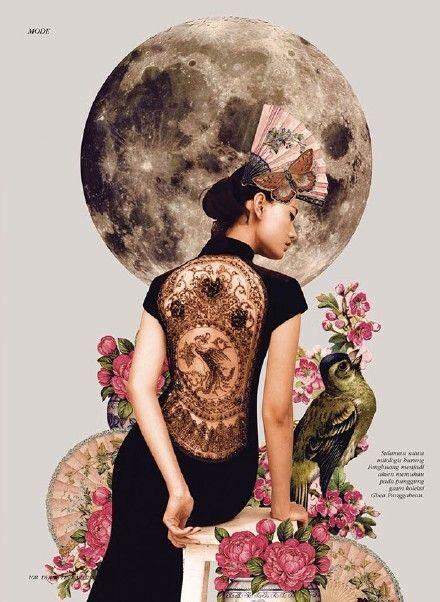 新中式波普风。印度尼西亚籍摄影师 Rya...