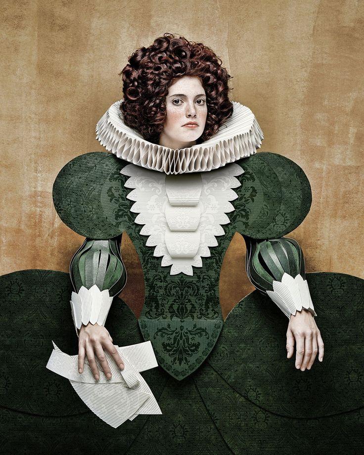 © Christian Tagliavini, Dame di Cartone - 17th Century I, 2008 #christiantagliavini #damedicartone