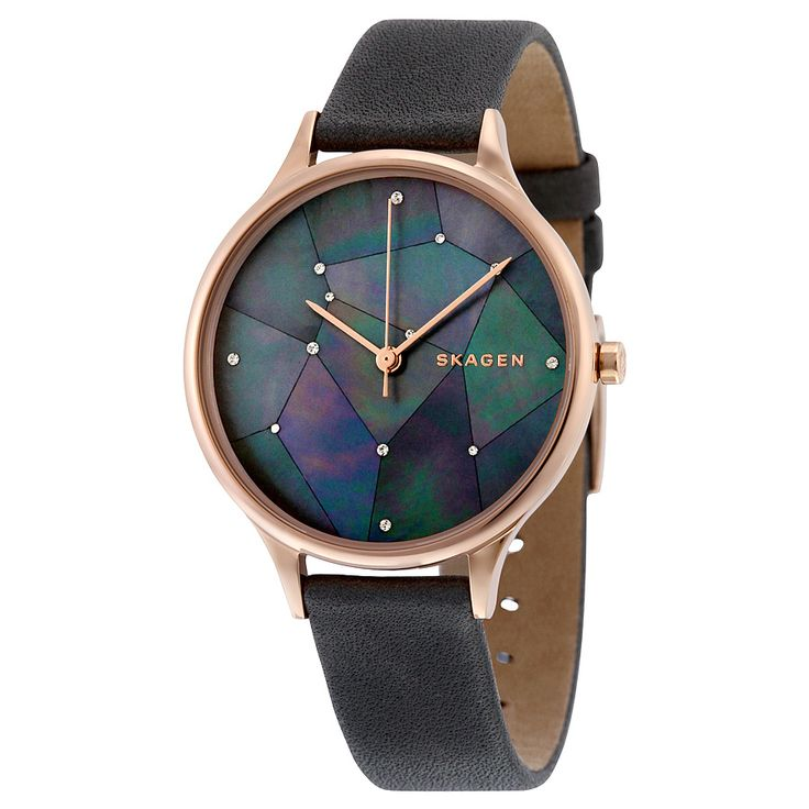 Skagen Anita Grey Crystal Constellation Dial Ladies Watch SKW2390 - Anita…