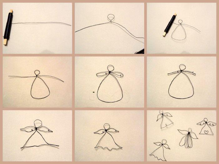 DIY Wireangel/ DIY Drahtengel – super easy und einfach!