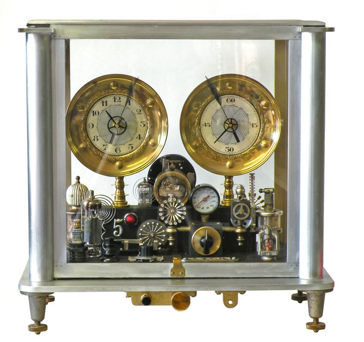 190 best images about steampunk clocks on pinterest steampunk clock mantles and electronic parts - Steampunk mantle clock ...