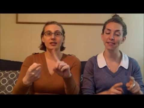 Hello and Goodbye Song Using Sign Language - YouTube