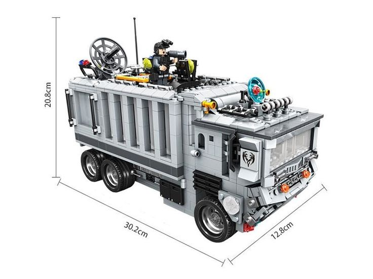 49.79$  Watch now - Model building kits compatible with lego Command Center  Police Truck  3D blocks Educational toys hobbies for children  #bestbuy