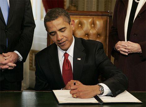 Left Handed People: Barack Obama