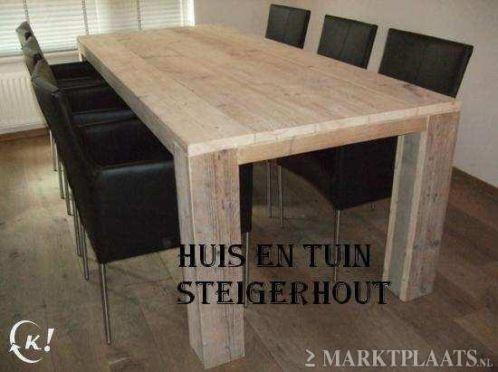 Stoere Tafels Steigerhout KERST ACTIE Gratis Bezorgd 119,-