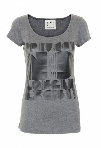 Karen By Simonsen Innano T-shirt Dark Melange - T-shirts - MaMilla
