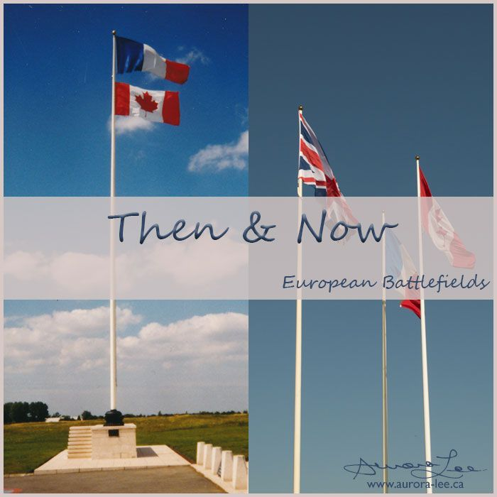 A look back at some of the WW1 and WW2 Western Front battlefields, and my visits there last month and 15-20 years ago.