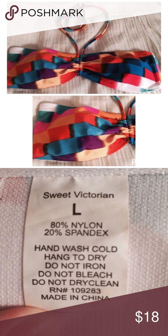 Sweet Victorian Bikini Top Never worn sweet victorian  Swim Bikinis