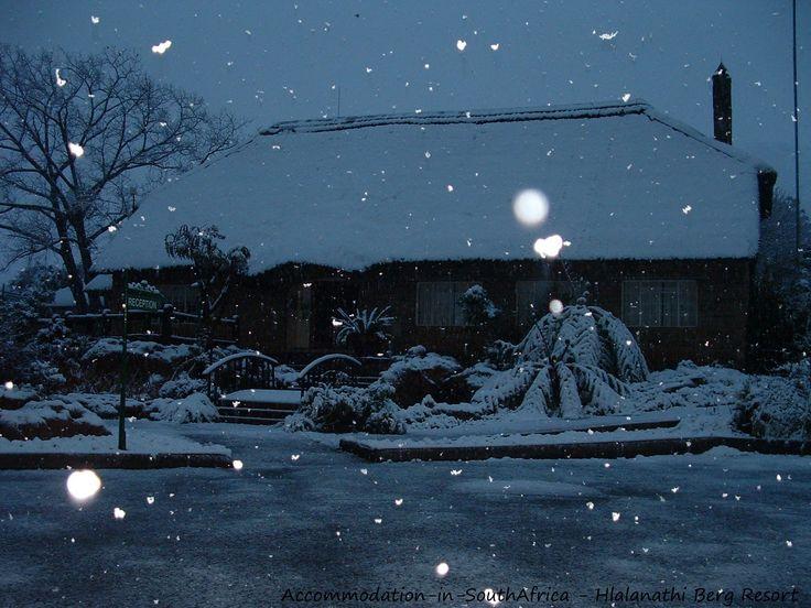 Winter wonderland at Hlalanathi Berg Resort. http://www.accommodation-in-southafrica.co.za/KwaZuluNatal/Bergville/Hlalanathi.aspx