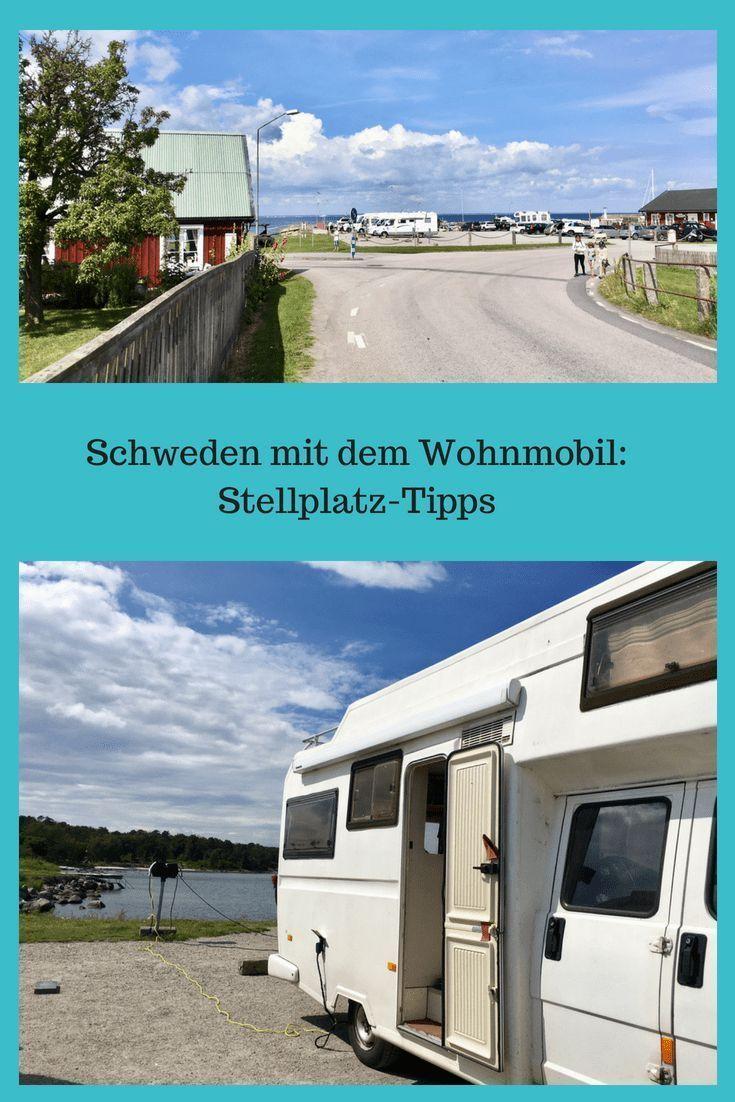 Tipps für Wohnmobil-Stellplätze in Schweden: Womoplätze für eine