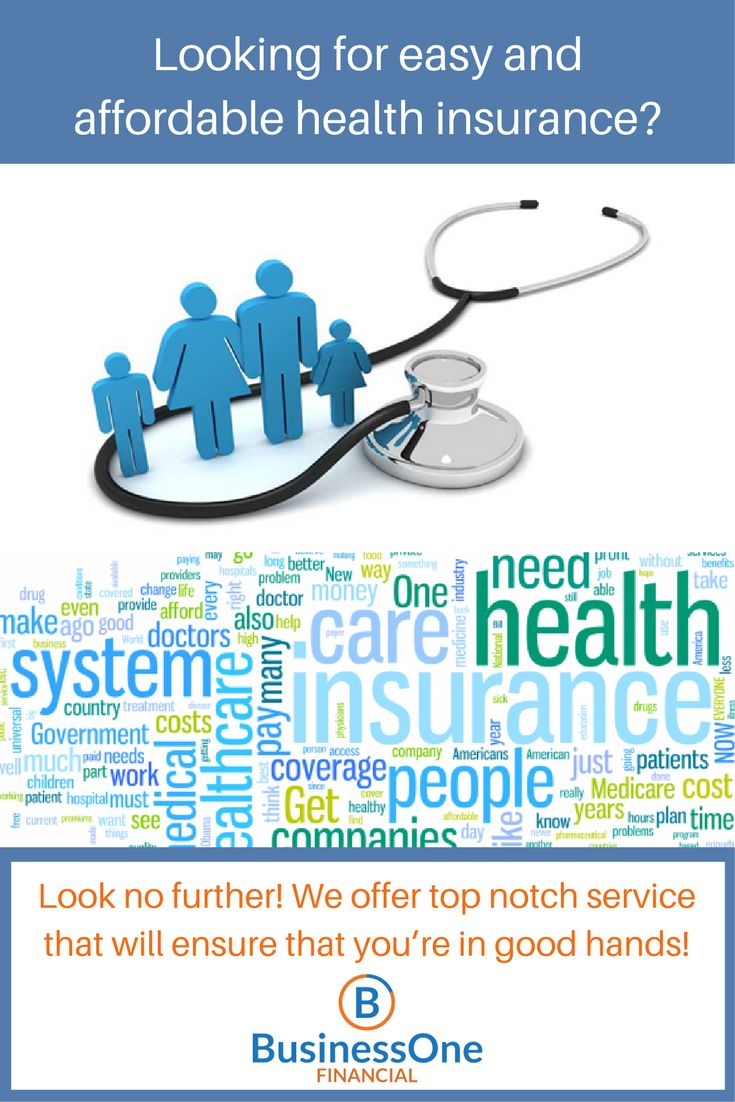Looking for easy and affordable health insurance?