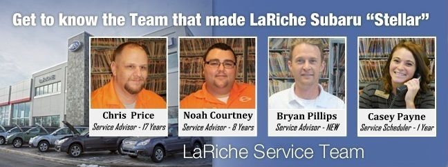 Meet Our Service Department! Your Subaru is not just basic car, so take it to the right shop certified & qualified to service Subaru's. Love. It's what we do.
