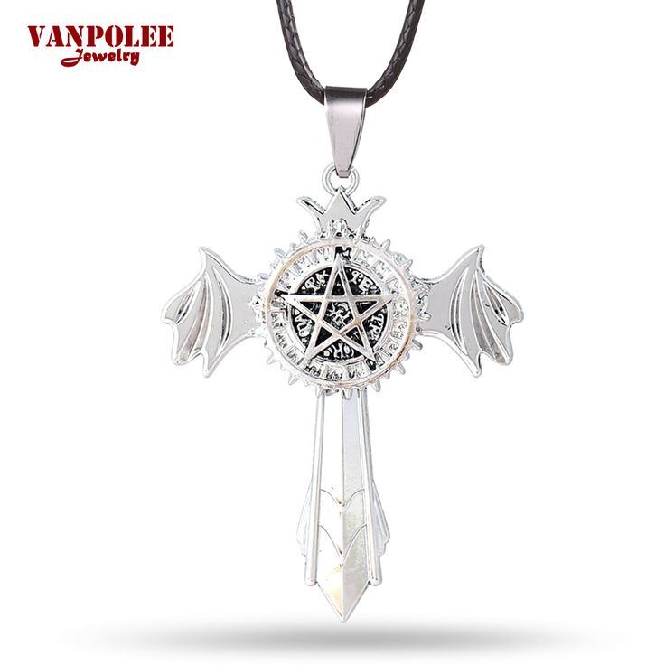 Black Butler Anime Pentacle Pentagram Pendant Lucifer Satan Logo Unisex Necklace //Price: $10.00  ✔Free Shipping Worldwide   Tag your friends who would want this!   Insta :- @fandomexpressofficial  fb: fandomexpresscom  twitter : fandomexpress_  #shopping #fandomexpress #fandom