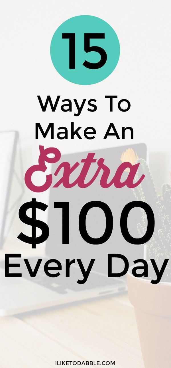 Make Extra Money: 28 Ways To Make An Extra $100 Every Day – Entrepreneurs class