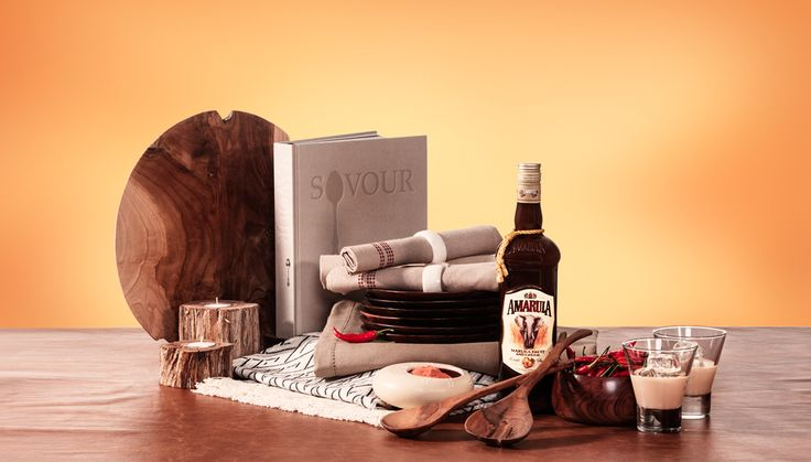 Safari Dining Delights - Spoil the ultimate hostess with a hamper that will allow her to perfect the art of entertaining. A bottle of Amarula to create delicious dishes and African inspired table settings. Visit http://www.amarula.com/gifts#/gifts for more gift ideas.