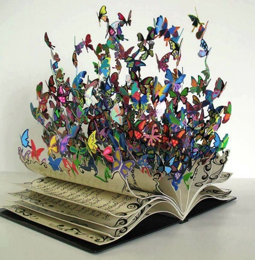 """Sculpture entitled """"Book Of Life"""" from artist David Kracov. Created to honor Rabbi Yossi Raichik, director of Chabad's Children of Chernobyl."""