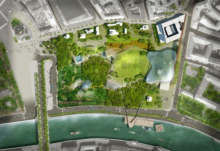 diller scofidio + renfro green moscow with zaryadye park - designboom | architecture & design magazine