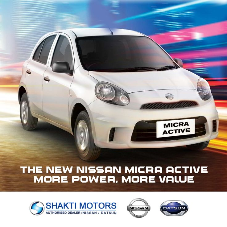 The New #Nissan #MicraActive More Power, More Value.  #NissanCars #MumbaiCars