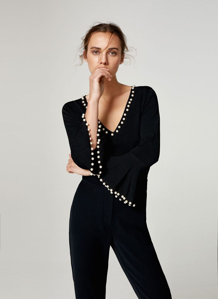 Pearls have adorned everything from footwear to denim in recent seasons, and knitwear is the latest way to get the injection of sophistication. For a grown-up way to embrace the trend, look to embellished oversized sweatshirts, knitted tees and even hoodies – we love Altuzarra's wow-factor asymmetric style for day-to-night polish.