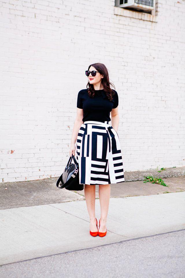 Best 25  Full skirt outfit ideas on Pinterest | Full skirts, Ball ...